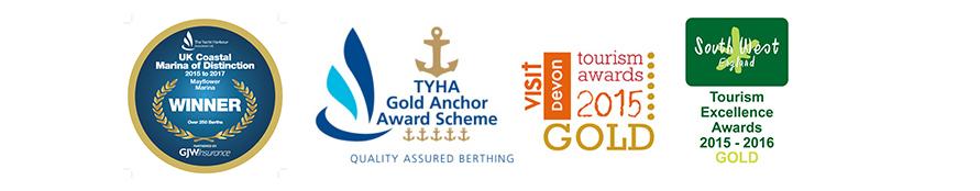 Mayflower Marina Plymouth Awards